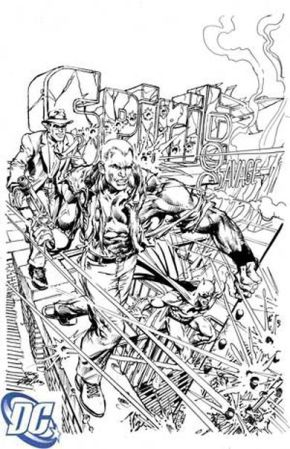 Neal Adams, dibuja la Portada de First Wave